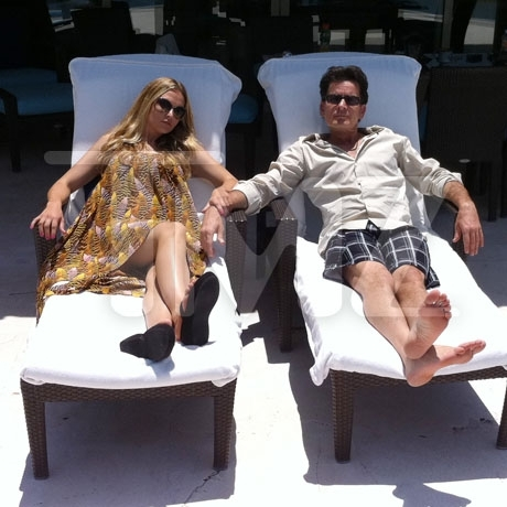 Charlie Sheen &amp; Brooke Mueller in Mexico