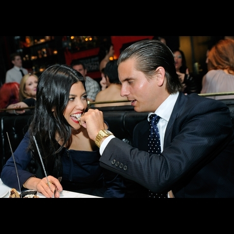Kourtney Kardashian and Scott Disick  the cute couple