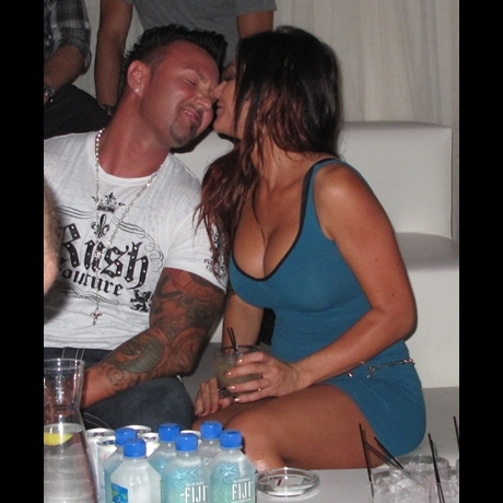 JWOWW at PURE in Las Vegas