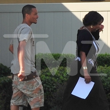 T.I.'s Return to the Halfway House -- The First Photos