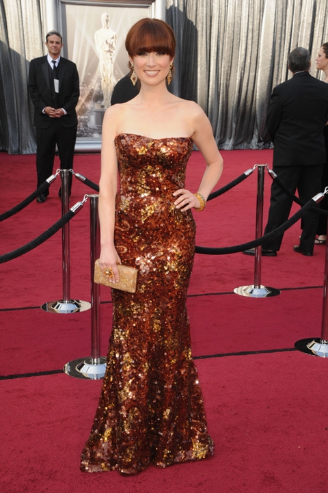 Academy Awards 2012 Red Carpet Fashion Photos