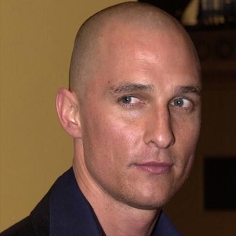 Matthew mcconaughey shaved