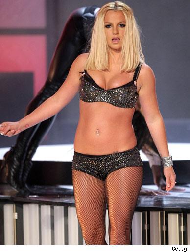 Britney getting chubby
