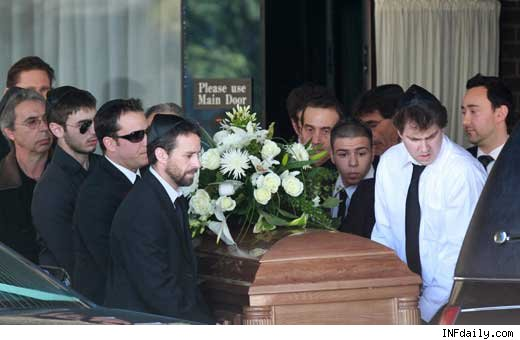 Corey Haim Beerdigung