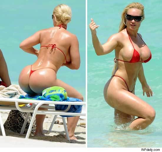 Bubble butt string bikini