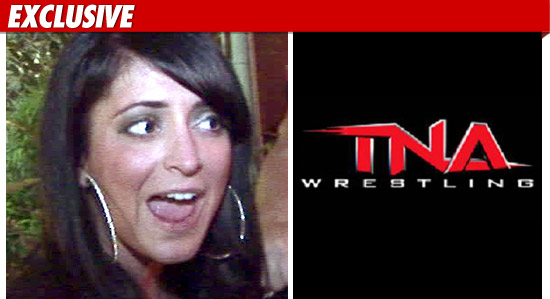 Jersey Shore Angelina Pivarnick Headlocked Into Tna