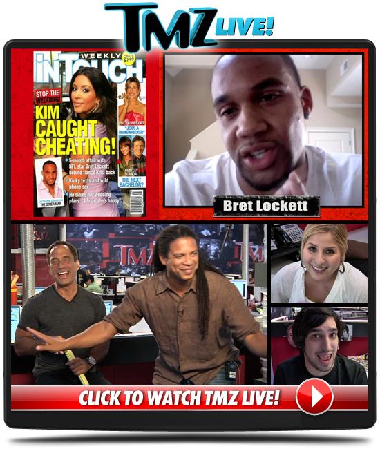 TMZ Live -- Bret Lockett Calls BS On Kim K.