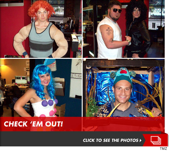 TMZ Halloween -- Haunted By The Ghost Of Ribeye