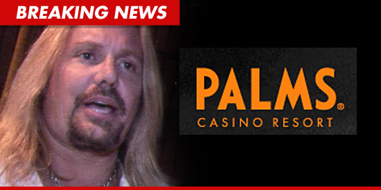 Vince Neil -- BANNED from Vegas Hotel