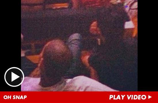 Rihanna Ass Kicked 60