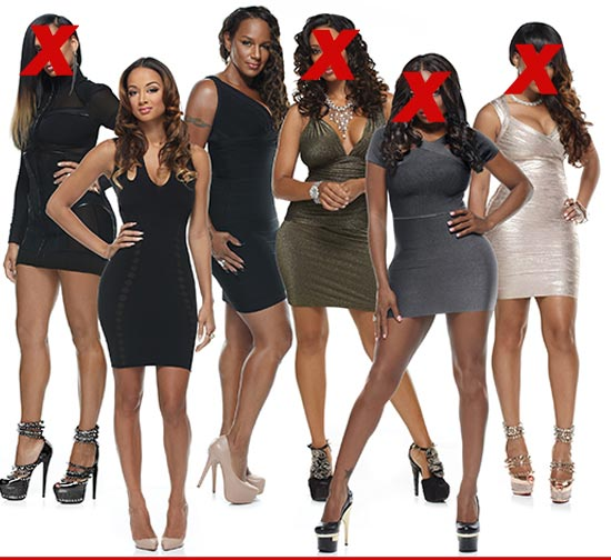 'Basketball Wives' L.A. Four Wives Axed From The Show