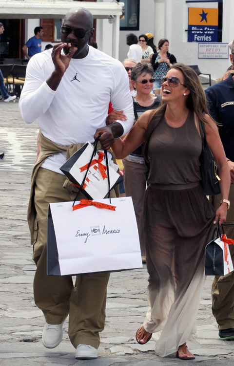 Michael Jordan Spotted With New Wife Yvette Prieto On Their