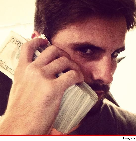 Just Talk: Scott Disick: I Wipe My A$$ With One Hundred