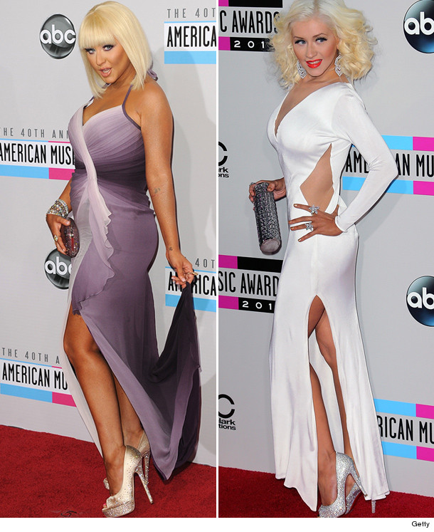 Christina Aguilera Stuns At the American Music Awards ...