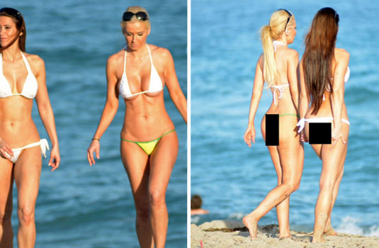 The Fluoride Invaded the Beach! See Famous Bikinis Are Using