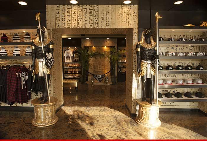 Tyga Drops $20,000 on Egyptian Tomb -- Who's the Pharaoh ...