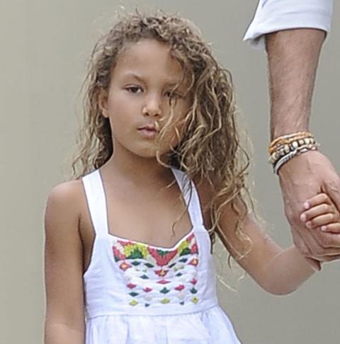 Nahla Aubry's Cute Curls | Photo 1 | TMZ.com