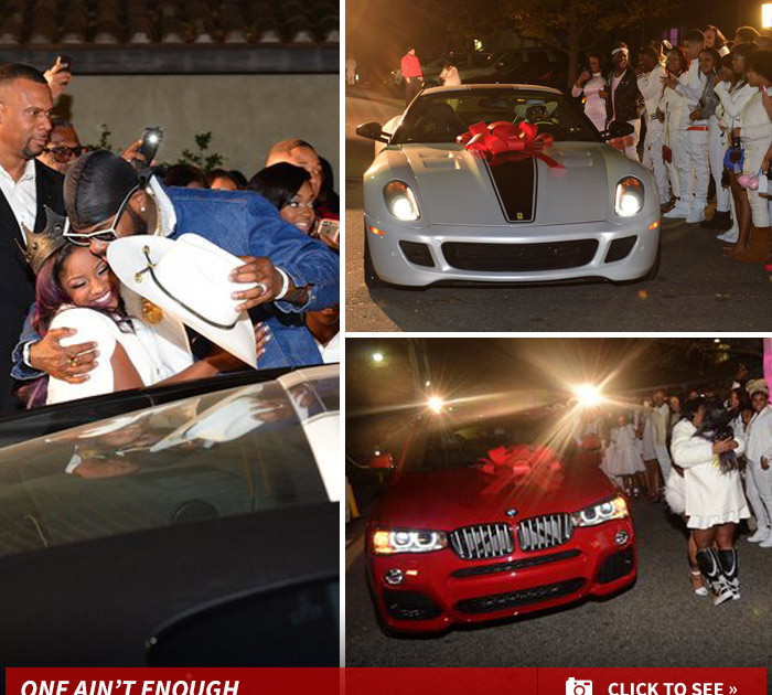Lil Wayne -- My Daughter Got TWO CARS ... For Her 16th ...