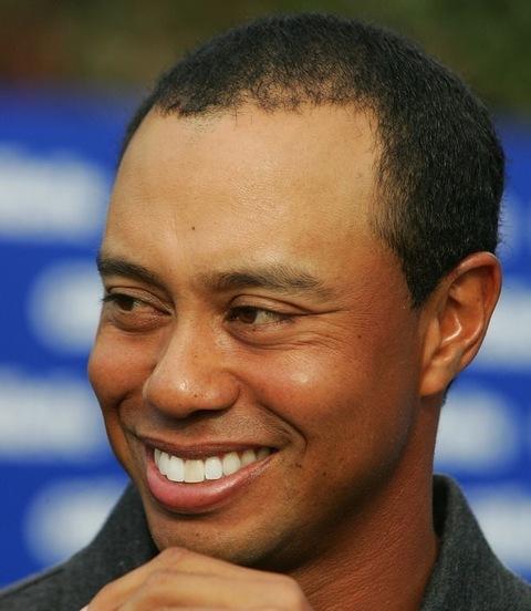 Remembering Tiger Woods' Full Smile   Photo 2   TMZ.com