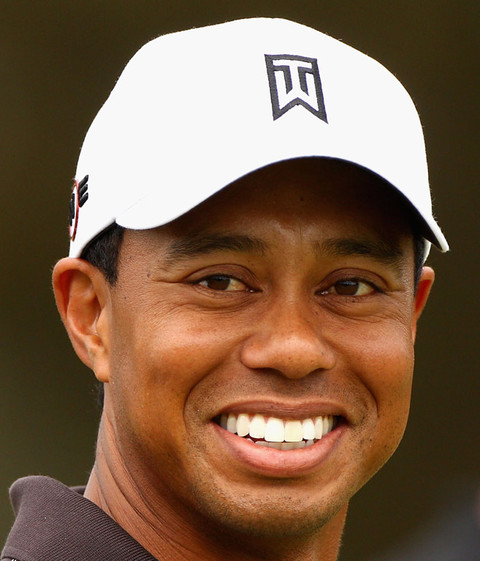 Remembering Tiger Woods' Full Smile   Photo 1   TMZ.com