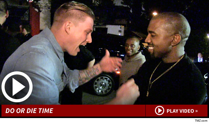 Kanye West -- Discovers the Next Big Rapper ... On the Street (Epic Video)