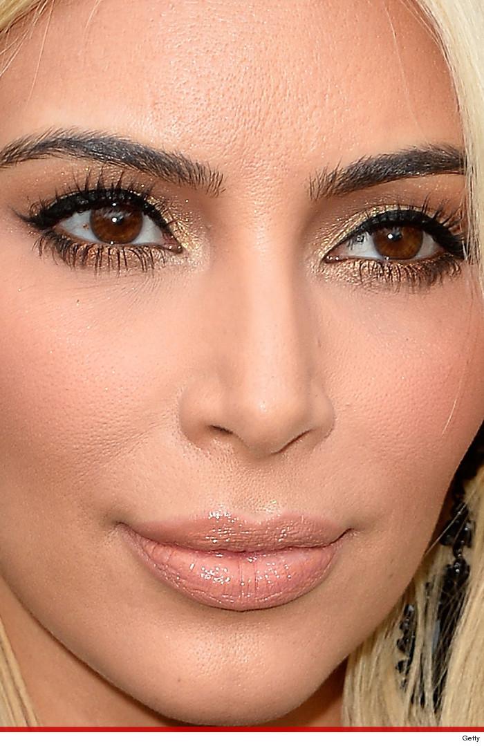 Close Up Portrait Of A: Kim Kardashian Face