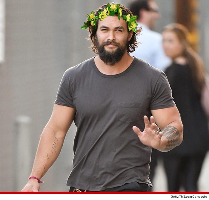 Jason Momoa Photo After Surgery: 27 Celebs Rockin' Flower Crowns -- Happy Coachella!