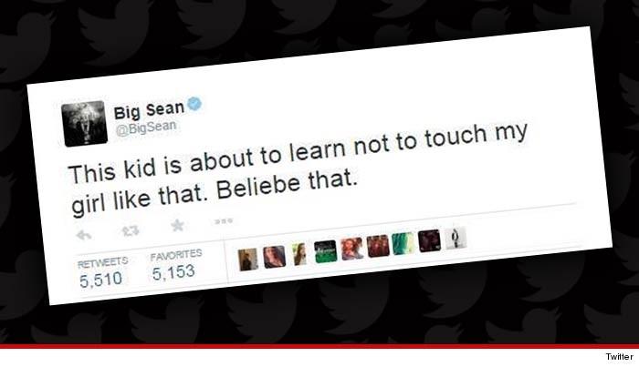 Big Sean enojado por las caricias entre Ariana Grande y Justin Bieber