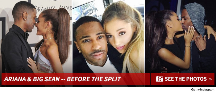 big sean and ariana grande really dating after divorce
