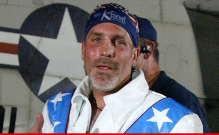 Evel Knievel Insurance Salesman: Robbie Knievel Arrested For DUI After 4-Car Wreck
