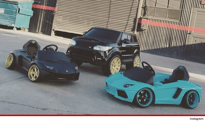 Chris Brown Cars: Chris Brown -- I'm Giving Royalty All My Rides … Just