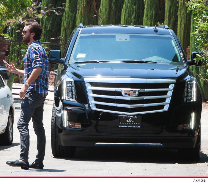 Scott Disick, Kourtney Kardashian -- Together Again