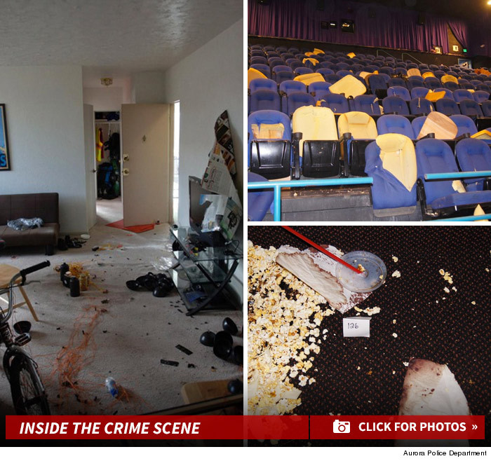 12 Killed 58 Injured In Colo Theater Shooting: Colorado Theater Shooting -- Chilling Crime Scene Photos
