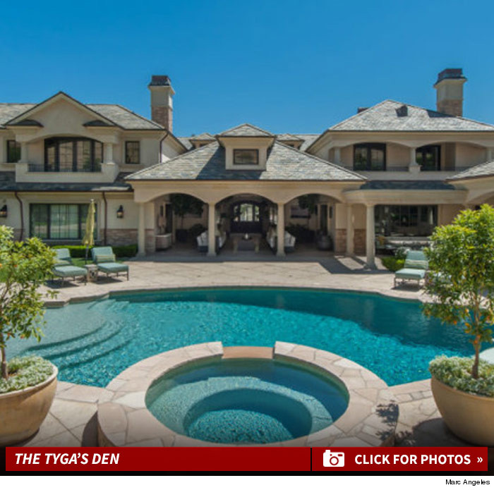 Jenner House Calabasas: Kylie Jenner Victim Tyga Is So Broke He Cant Afford To Buy