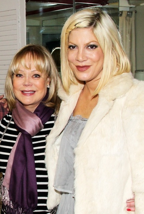 candy and tori spelling relationship
