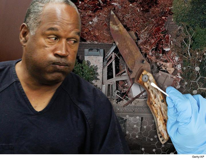 O.J. Simpson: No DNA On Buried Knife