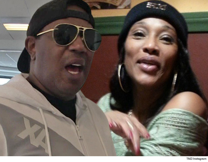 Master P -- Sonya Makes HIM Say Uhh ... Has to Fork Over ...