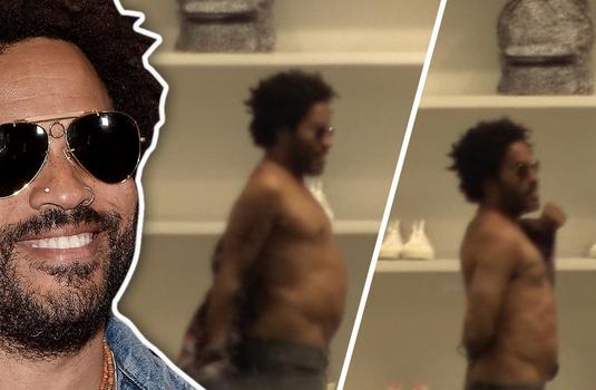 Kravitz nude lenny Penisgate: Yes,