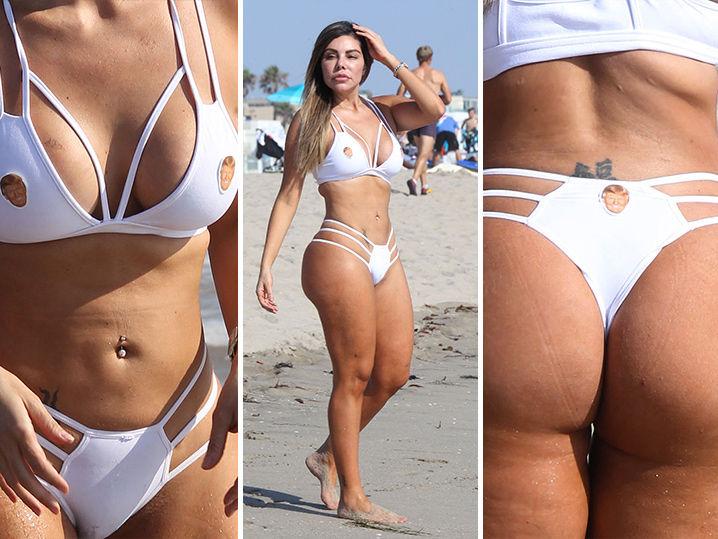 Bikini butt Wet