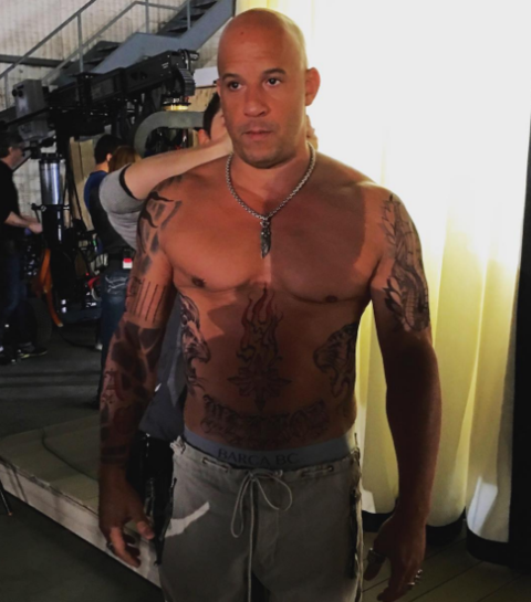 The Rock and Vin Diesel -- Furiously Jacked | Photo 8 ...