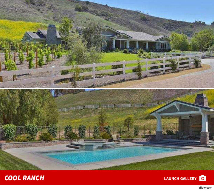 Kylie Jenner House: Kylie Jenner -- Third House Is A $4.5 Mil Charm!! (PHOTO