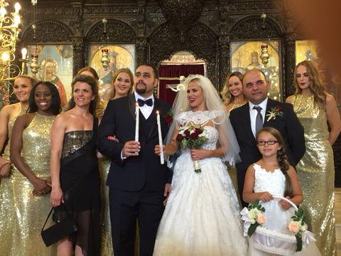 Cj Perry And Rusev Wedding Photo 1 Tmz Com