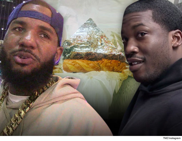 The Game - Meek Mill Crew On the Hunt for Rapper ...