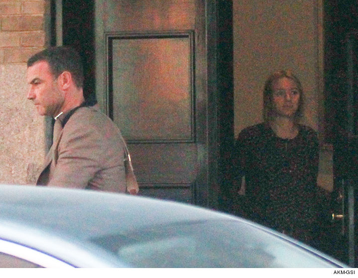 Naomi Watts & Liev Schreiber Breaking Up Is Hard To Do ...