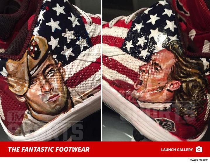 Antonio Brown Pat Tillman Shoes