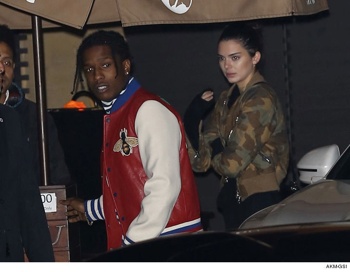 Kendall Jenner A Ap Rocky Are Reportedly Dating Laguna Biotch Spills