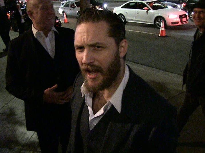 Tom Hardy Discusses Talking Dogs and Modern-Day ...