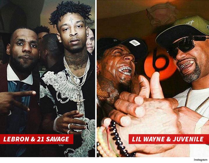 Lil Wayne Beats Birdman's Cash Money Party With LeBron's ...